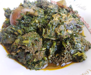 Afang soup recipe made easy and simple