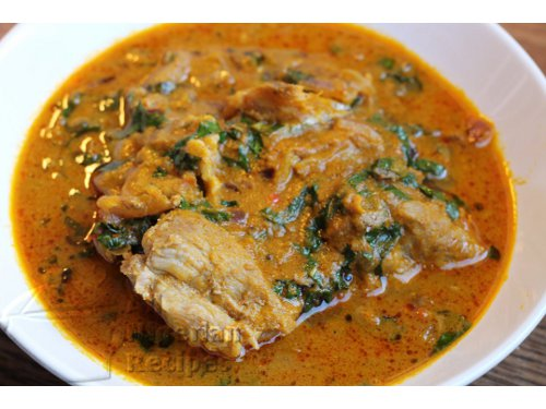 Using this Banga Soup recipe