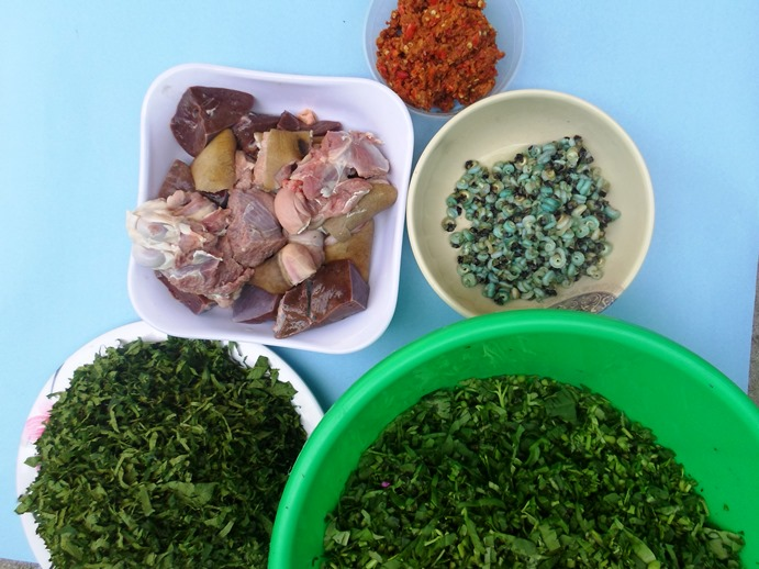 ingredients for edikaikong-