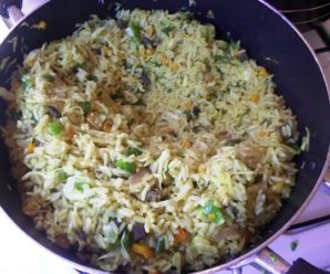 Fried Rice Recipe using the African style