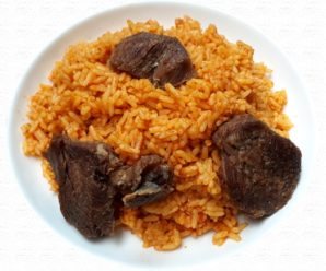 Jollof rice recipe cooking the african style