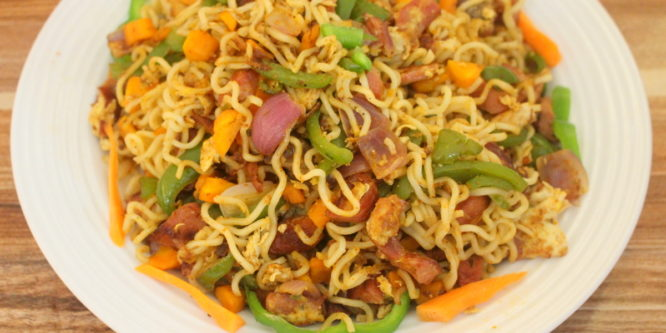 Indomie noodles recipe