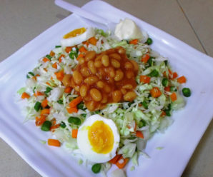 Nigerian vegetable salad recipe made easy in 5 mins