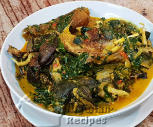 Ofe owerri recipe made easy in african style