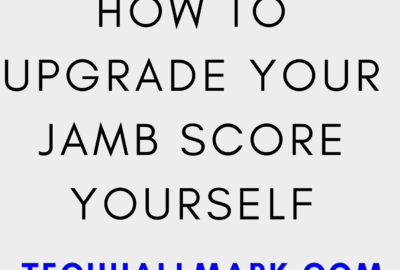 how to upgrade your jamb score yourself