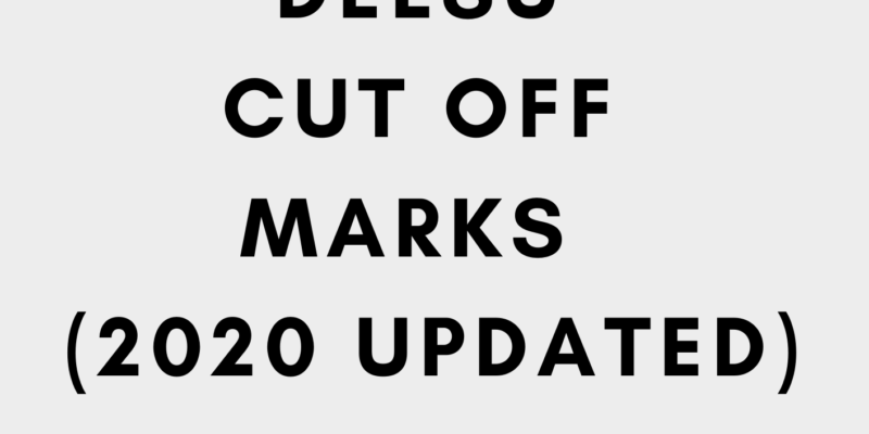 Delsu cut off mark 2020