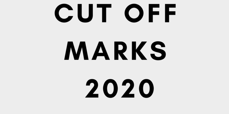 Unn cut off mark 2020
