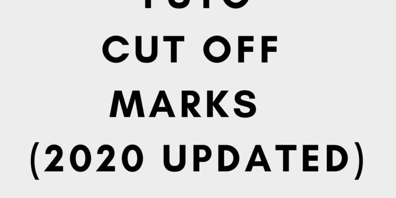 Futo cut off marks 2020