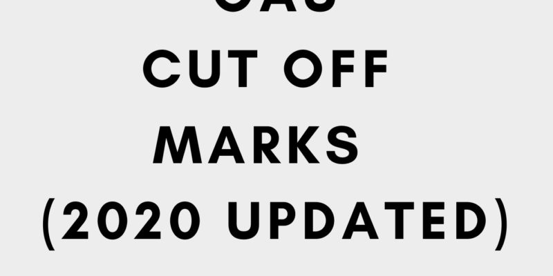 OAU cut off mark 2020