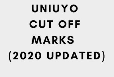 Uniuyo Cut Off Mark 2020