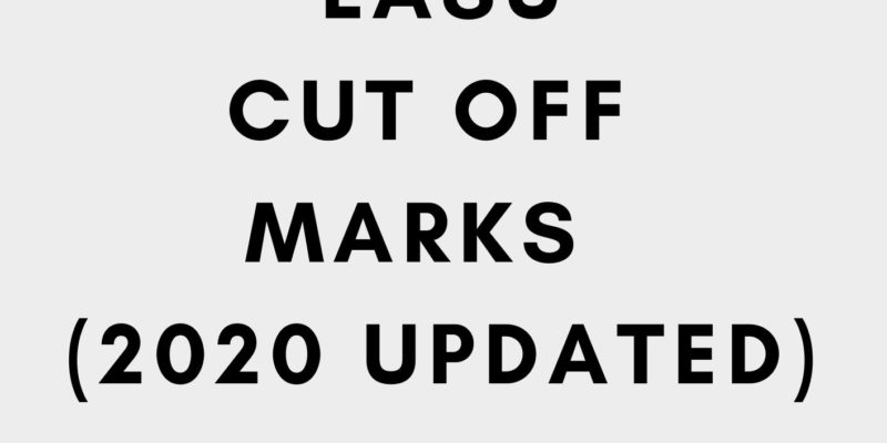 Lasu cut off mark 2020